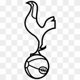 Tottenham Logo White Png Transparent Png 399x991 Png Dlf Pt
