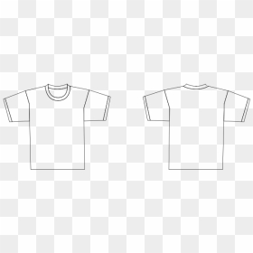 White T Shirt Template Png T Shirt Transparent Png 1000x489 Png Dlf Pt