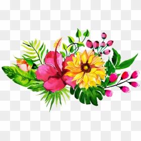 Elements, Hong Kong Flower Clip Art - Flowers Floral Design Elements  Transparent PNG