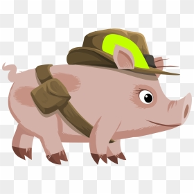 Inhabitants Npc Piggy Explorer Clip Arts Cochon Clipart Hd Png Download 2400x1731 Png Dlf Pt