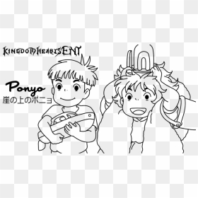 Ponyo Coloring Pages - HiColoringPages - Coloring Home | 280x280